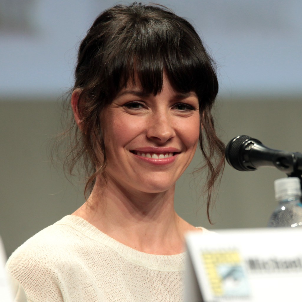 Evangeline Lilly visits Taiwan for the first time.
