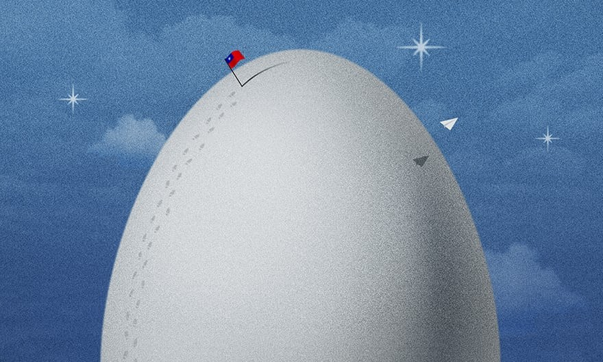 'Eggs' by Chen Wu. (Image from Association of Illustrators)