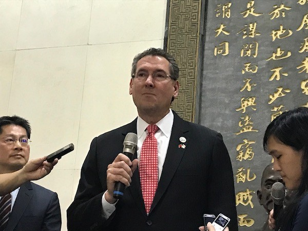 United States  unveils new 'embassy' in Taiwan amid strained China ties