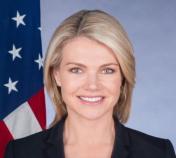Spokesperson for the U.S. Department of State Heather Nauert (Source: Website of the State Department)