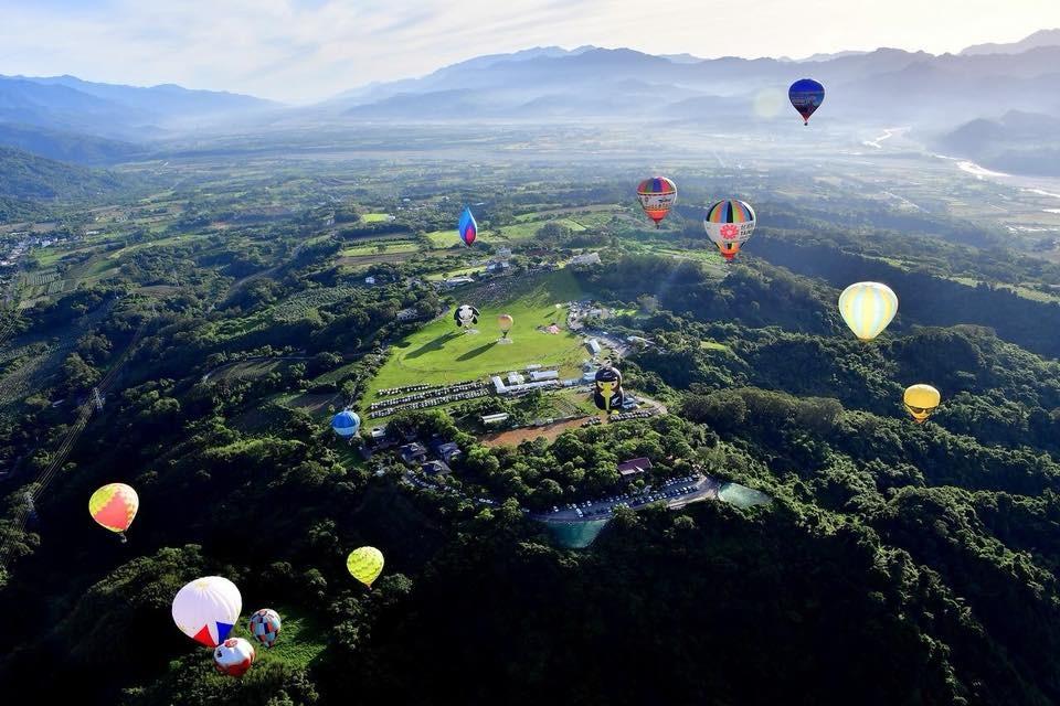 照片轉載自台東熱氣球嘉年華臉書