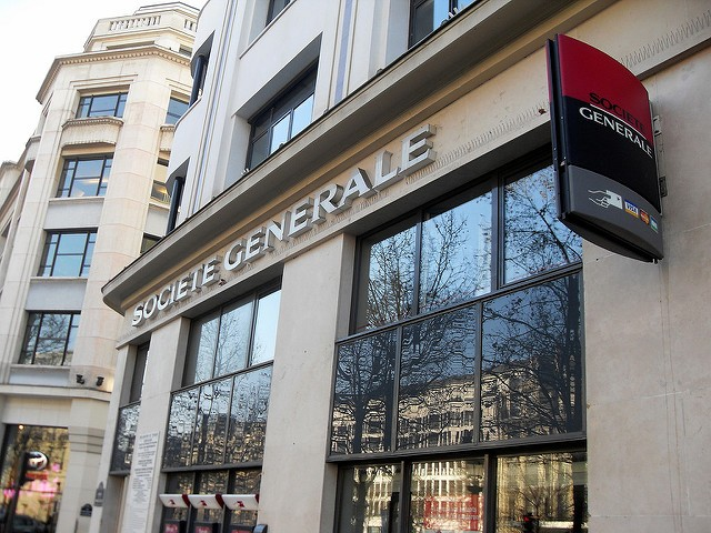 The photo shows a Societe Generale (Image credit: Mohamed Yahya/flickr)