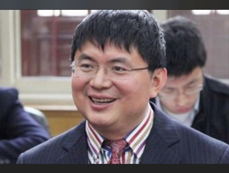 中國「明天系」負責人肖建華。翻攝中國網路