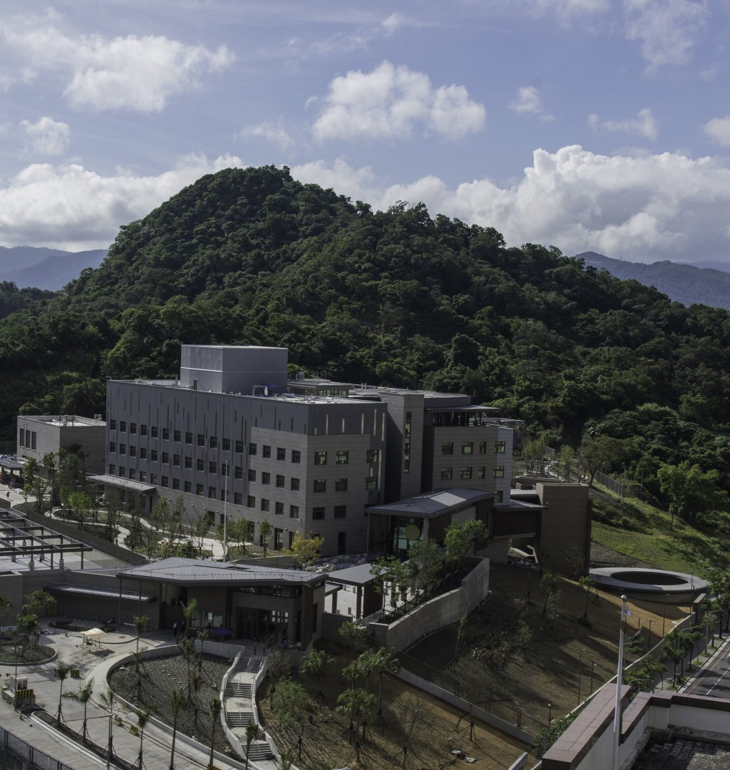 The new compound of the American Institute in Taiwan (Source: AIT)