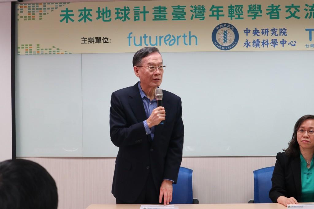台灣永續能源研究基金會董事長簡又新。(照片由台灣永續能源研究基金會提供)