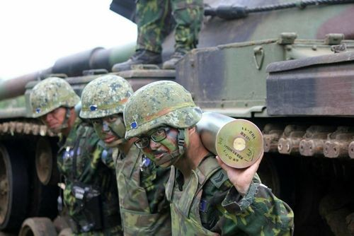 Taiwan is upgrading its military amid threats from China.