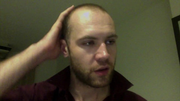 Nick Coakley. (Screenshot from Coakley's apology video on YouTube)