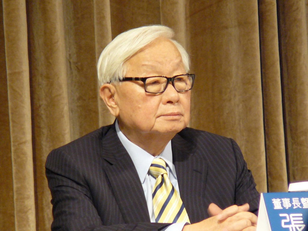 臺灣積體電路公司創辦人張忠謀(照片來源:資料照片/中央社提供)