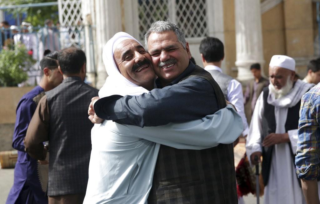 為慶祝開齋節,塔利班組織宣布與政府軍停火三天。(美聯社)