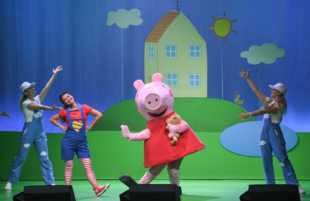 """""""Peppa Pig Live Celebration!"""" warms hearts in Taipei over the holiday weekend."""