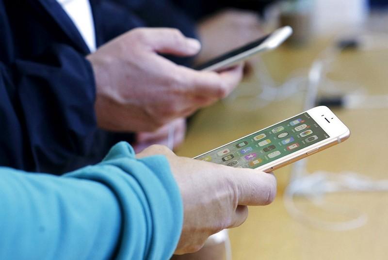 蘋果手機(圖/美聯社)