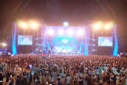 2018新北市貢寮國際海洋音樂祭於七月福隆海水浴場開唱