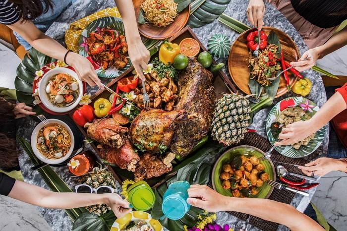 朋派自助餐「熱帶共和國」料理