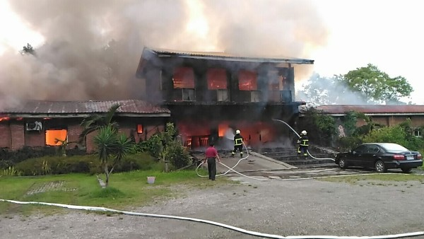 NT$1 million up in smoke after firefighters sent to wrong town in eastern Taiwan