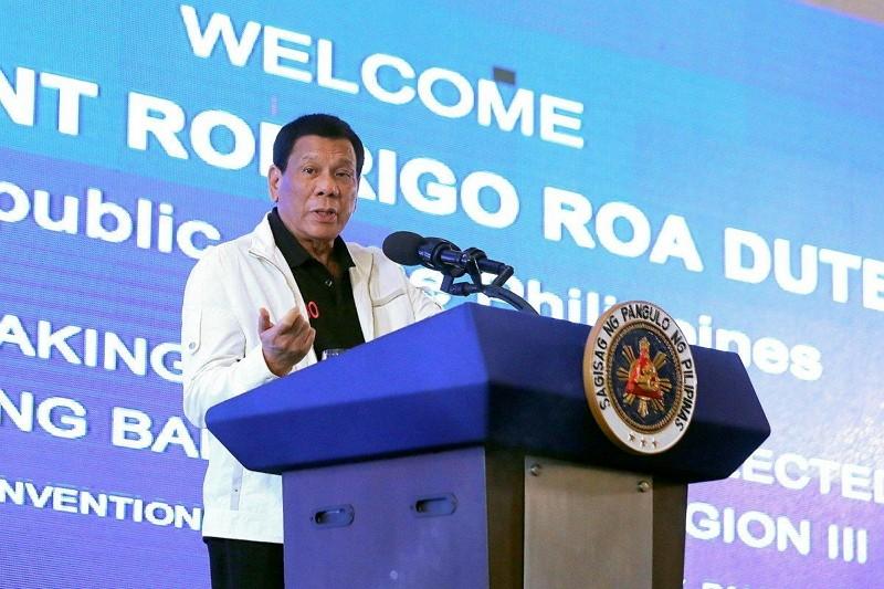 菲律賓總統杜特蒂(圖/菲律賓政府臉書)