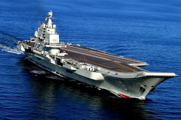 The Liaoning.