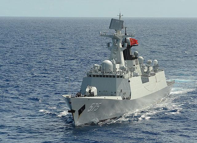 Type 054A frigate (Wikimedia Commons)