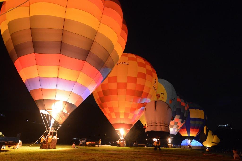 Catch the Shihmen Reservoir Hot Air Balloon Carnival June 23 through July 1.