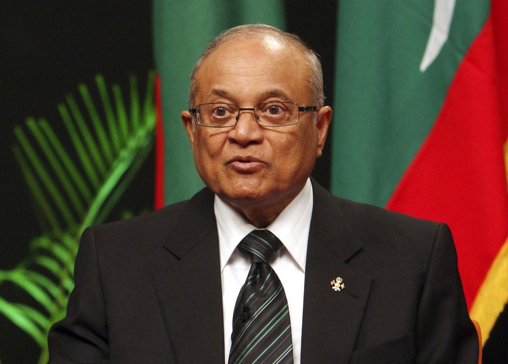 馬爾地夫現任總統阿卜杜拉·雅門(Abdulla Yameen)(美聯社)