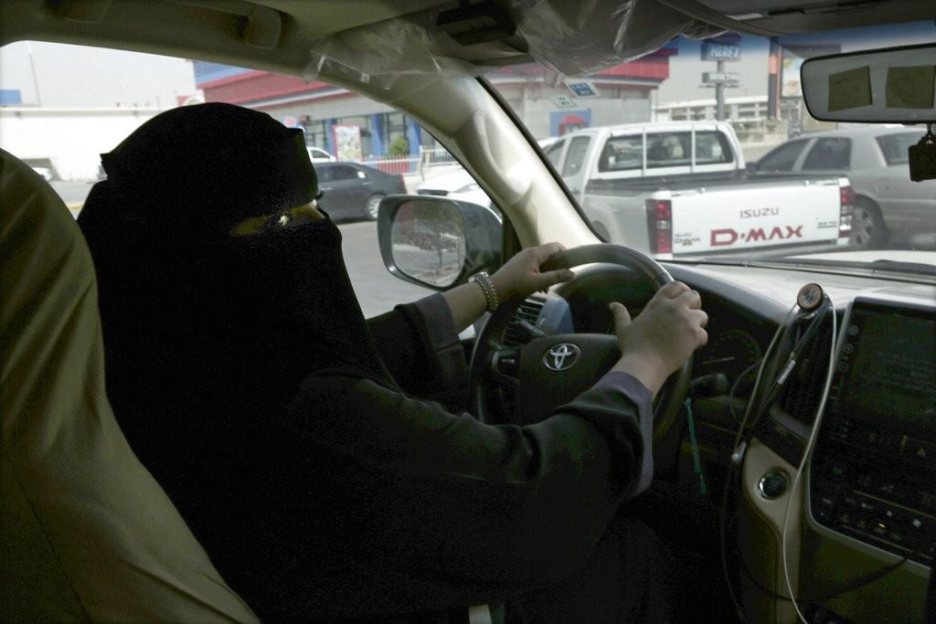 沙烏地阿拉伯終於准許女性合法開車(美聯社)