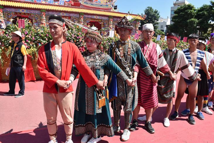 幸福新生活文化交流活動。(照片來源:Flickr使用者Bunkichi Chang)