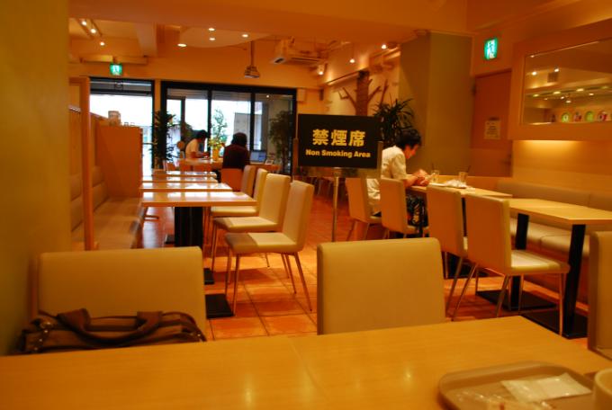 日本餐廳禁煙區示意圖(翻攝自維基百科)