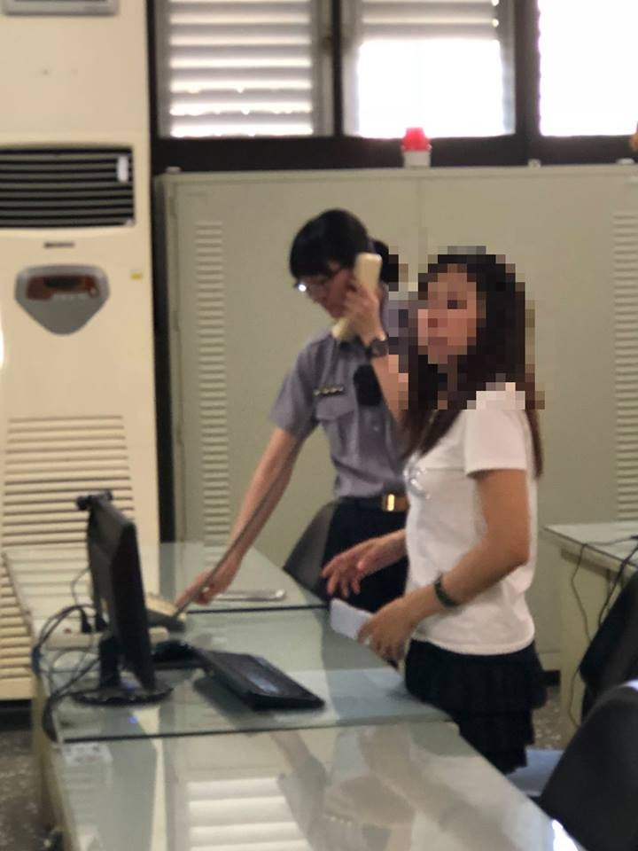 (圖片來源:嘉義市警察局第二分局興安派出所臉書)