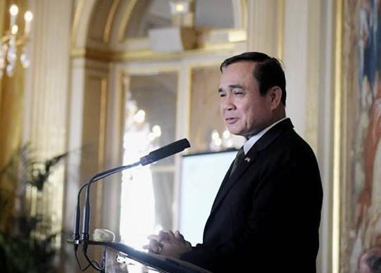 泰國總理帕拉育·詹歐查(翻攝自帕拉育·詹歐查臉書)