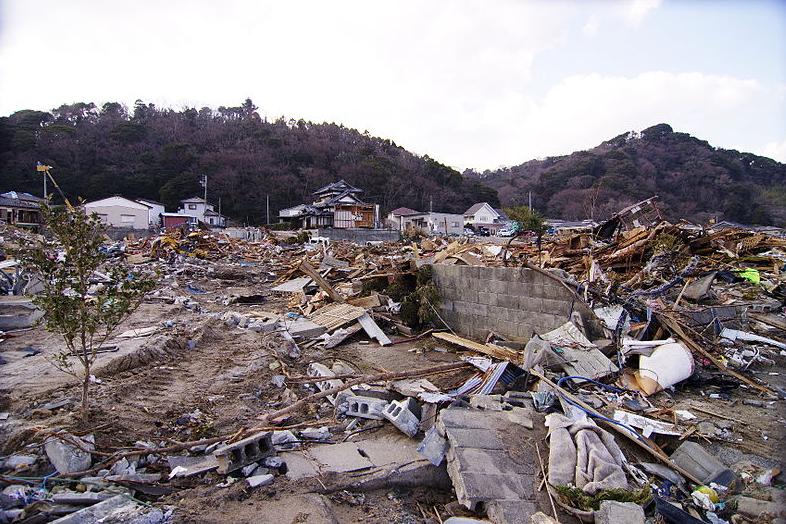 日本地震示意圖(翻攝自維基百科)