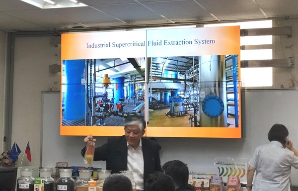 I-Mei Foods CEO Luis Ko introduces the company's technology.