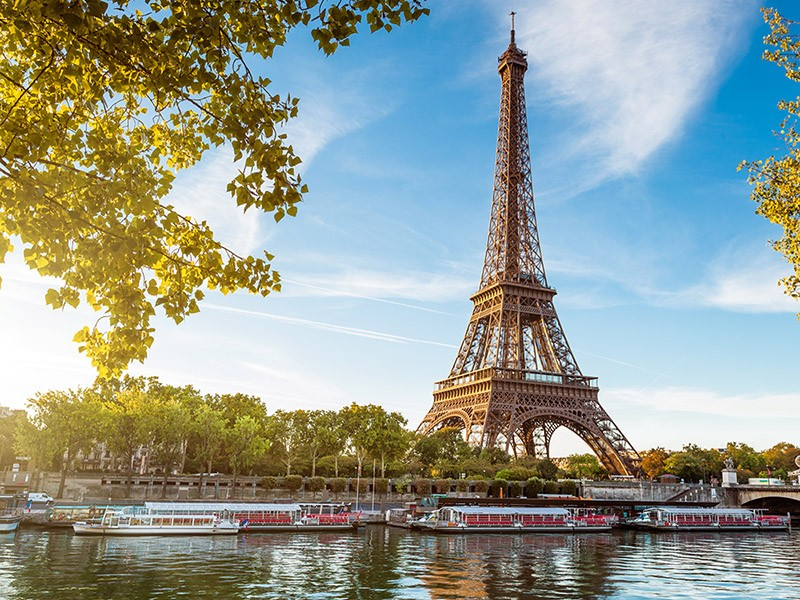 華航與法航聯營巴黎航點,抵達時間、票價CP值相當不錯(圖片來源:易遊網)