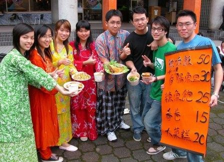 Southeast Asian students in Taiwan.