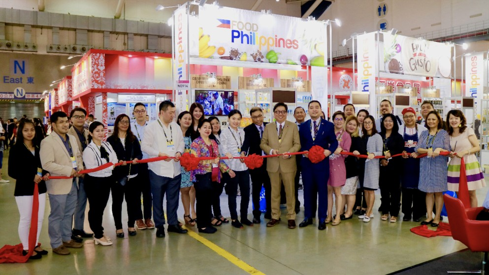 Philippines targets Taiwan market at FOOD Taipei (Photo by CNA)
