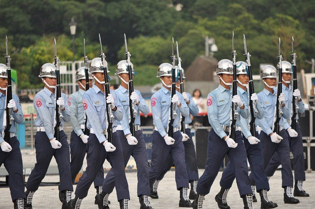 Monthly pension for military personnel will be NT$38,990. (Max Pixel)