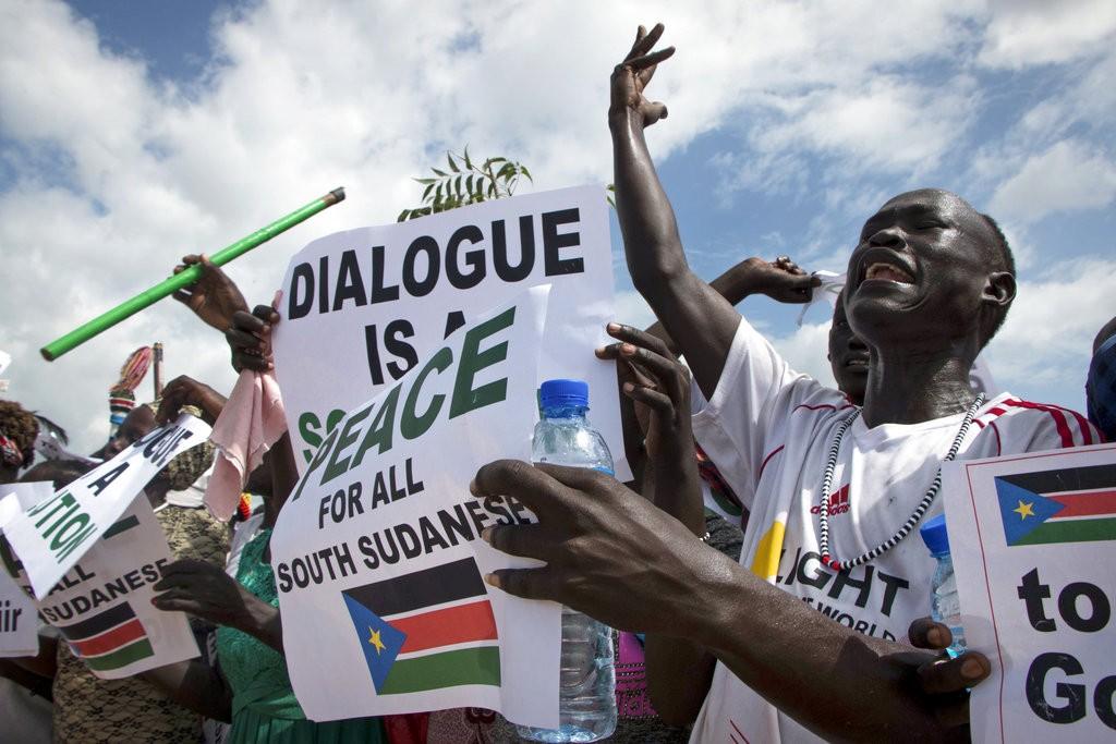 南蘇丹飽受內戰所苦。 (美聯社)