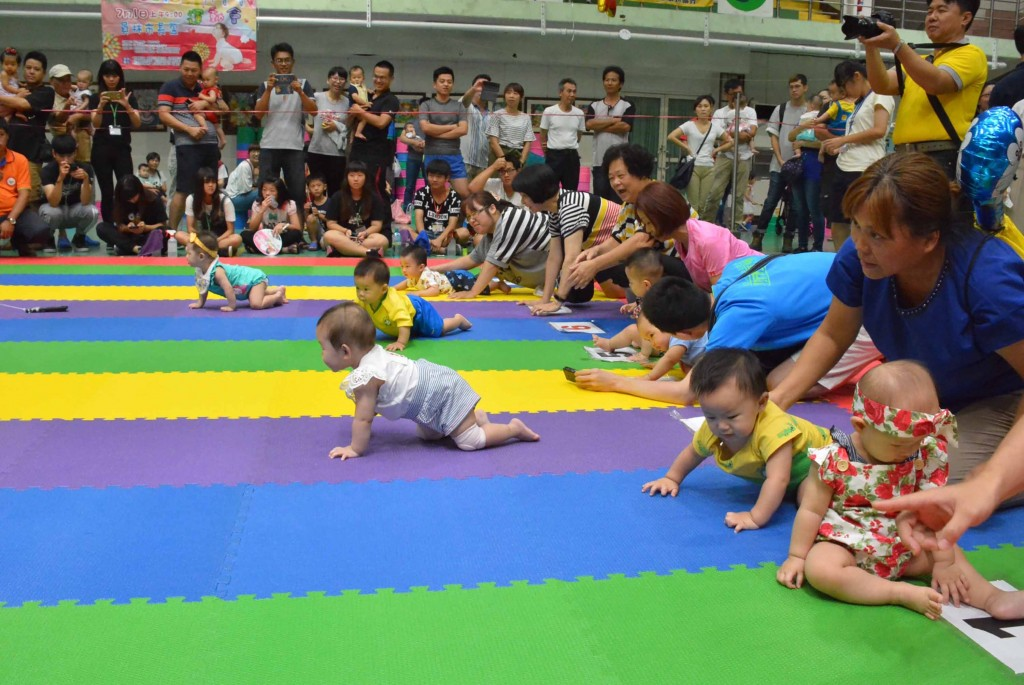 Changhua Crawling Competition