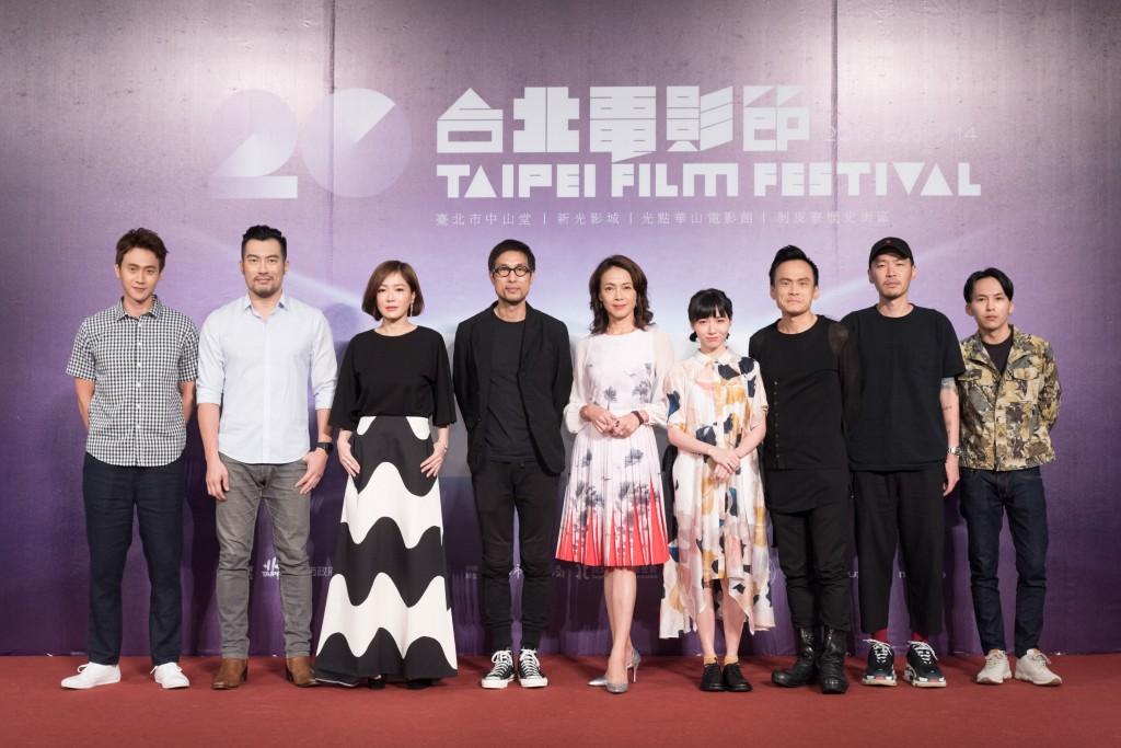 《小美》劇組(照片來源:2018台北電影節)