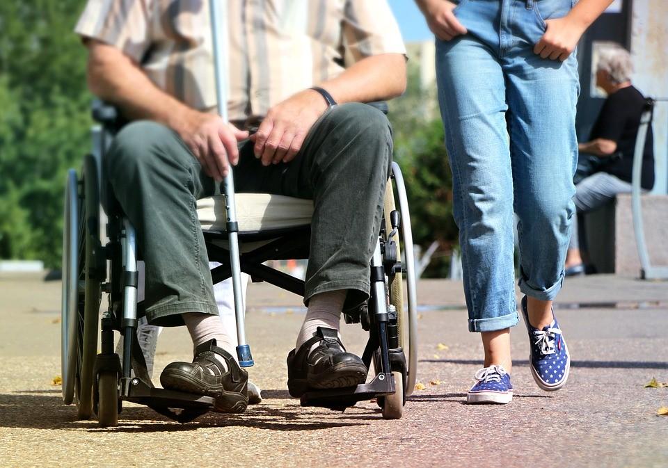 身障者示意圖。(由klimkin提供)
