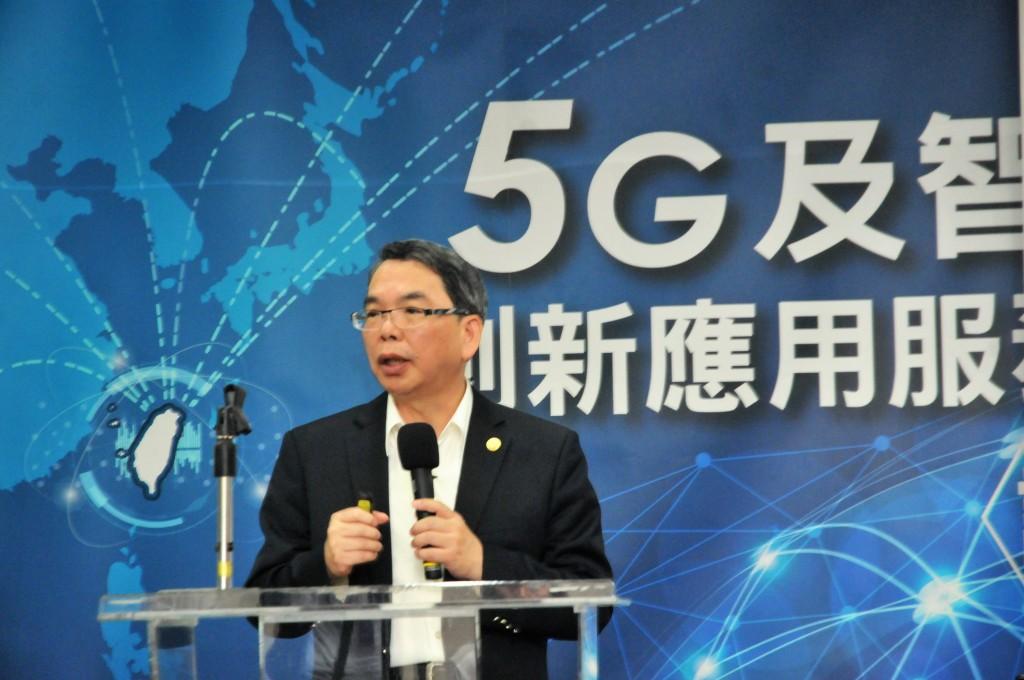 新聞附件照片三中華電信技術執行副總林國豐出席發表合作內容(中華電信提供)