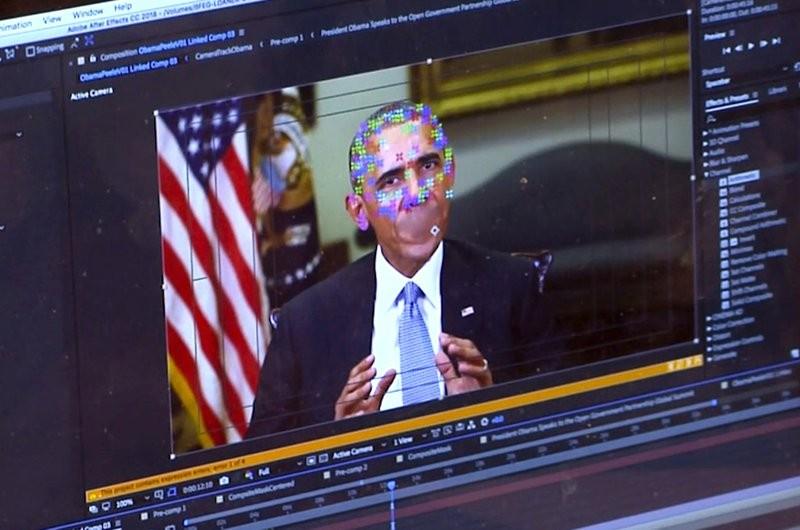 假影片模仿前美國總統歐巴馬說話(美聯社)