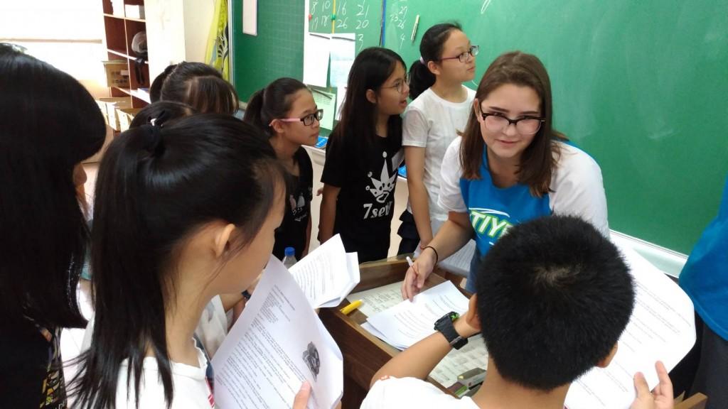 免費暑期英語學習營志工帶領課程1〈新北市政府教育局提供〉