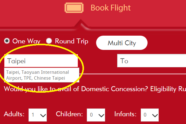 Taiwan protests name change on Air India's website