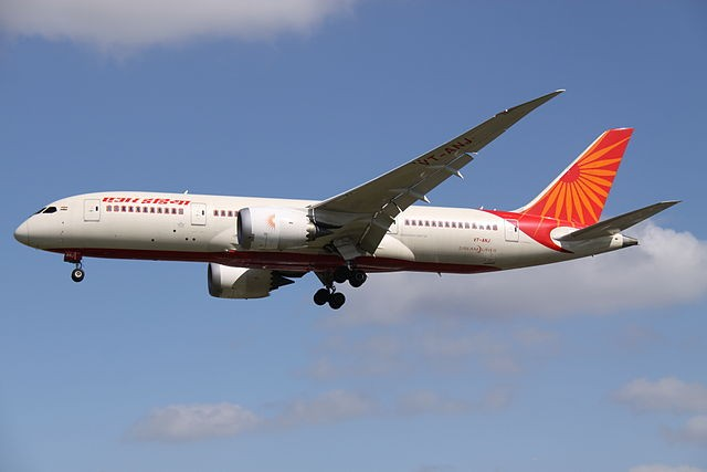 Air India changes Taiwan to Chinese Taipei
