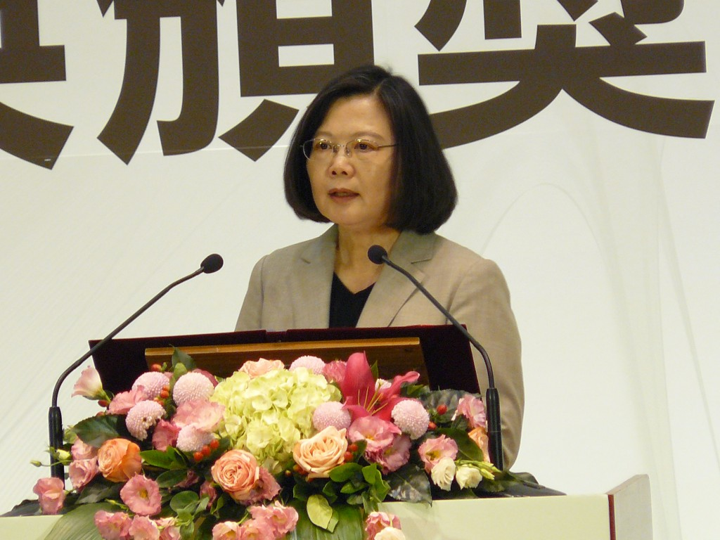 工研院5日歡慶45週年,總統蔡英文致詞表示,創新永遠是台灣求生的關鍵
