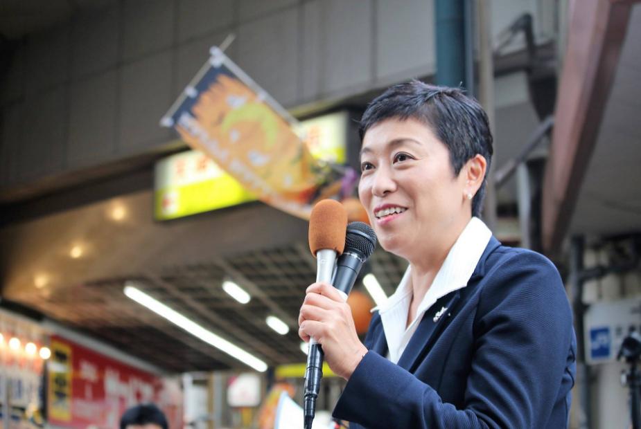 日本在野黨立憲民主黨國會對策委員長辻元清美(翻攝自辻元清美臉書)