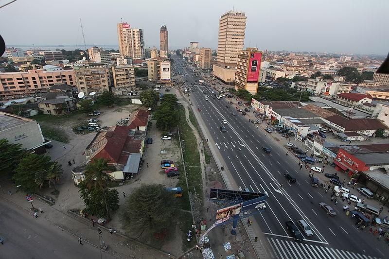 非洲剛果民主共和國首都金夏沙6月30日大馬路照片(翻攝自維基百科)