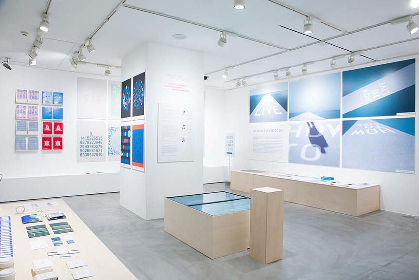 2018 JAGDA 日本平面設計展覽已於東京展出,七月將移至大阪(照片來源:GB Gallery)