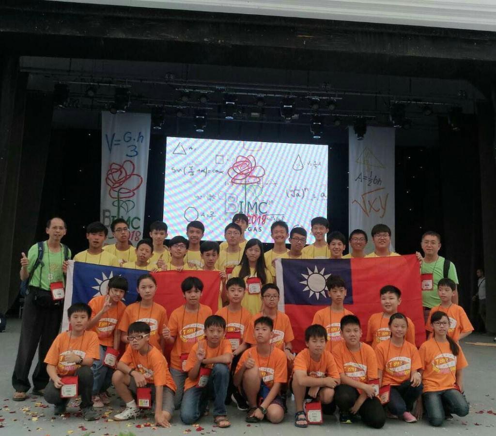 赴保加利亞參加國際青少年數學賽競賽的中小學代表隊(照片來源:九章數學教育基金會提供)