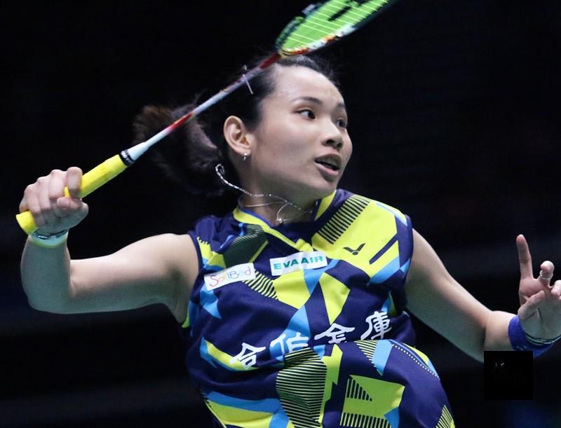 Taiwanese badminton star Tai Tzu-ying.
