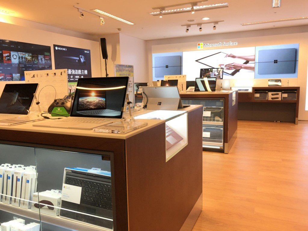 Microsoft Surface flagship in Taipei